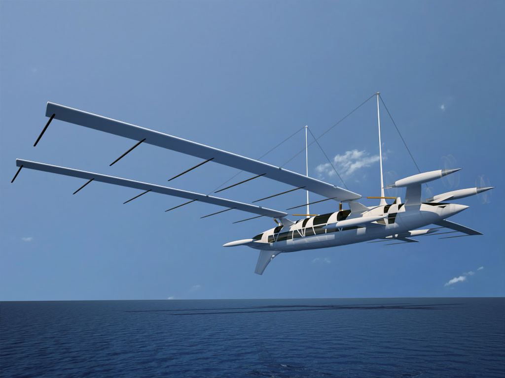 octuri flying yacht