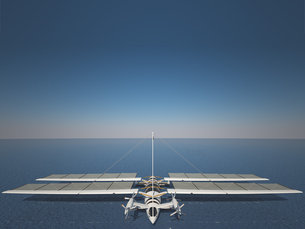 The flying yacht di Octuri