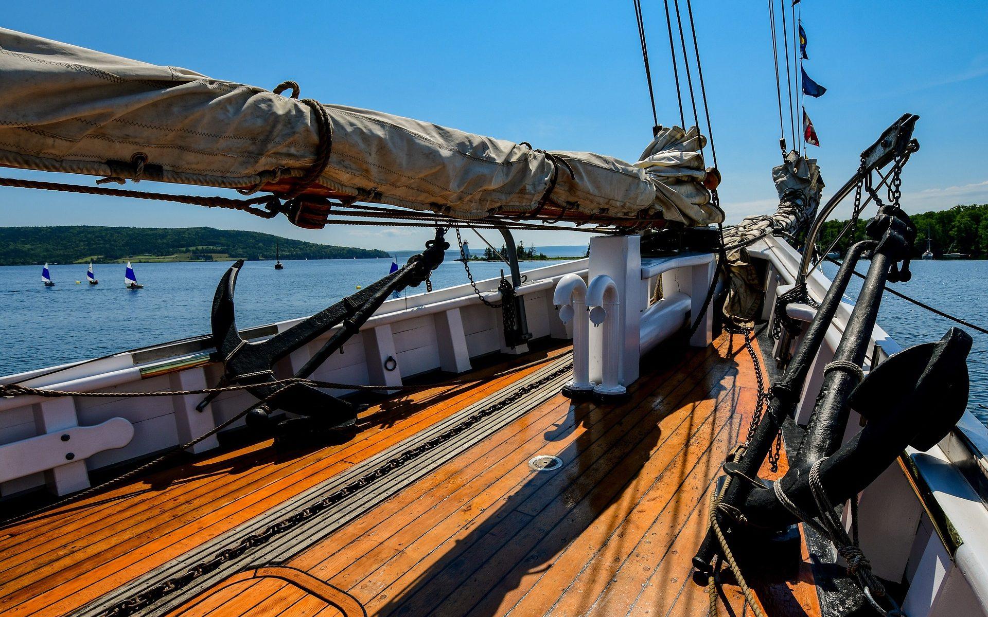 cambusa, barca a vela, navigazione