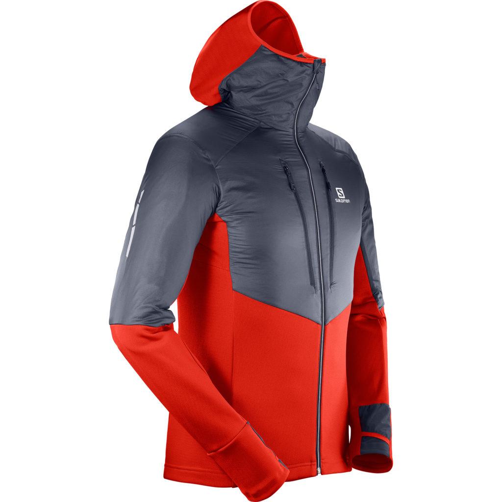 salomon mid hoodie