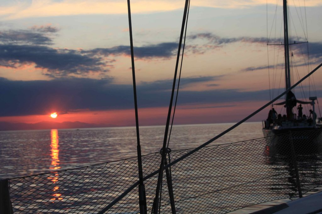 Biodola isola d'elba tramonto