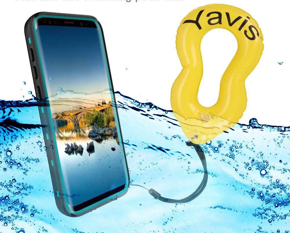 custodia galleggiante smartphone