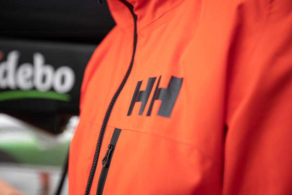 Helly Hansen HP Racing Midlayer Lifaloft Colletto in Pile Marina Sportivo Navigazione Giacca Impermeabile Donna