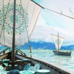 cena in barca