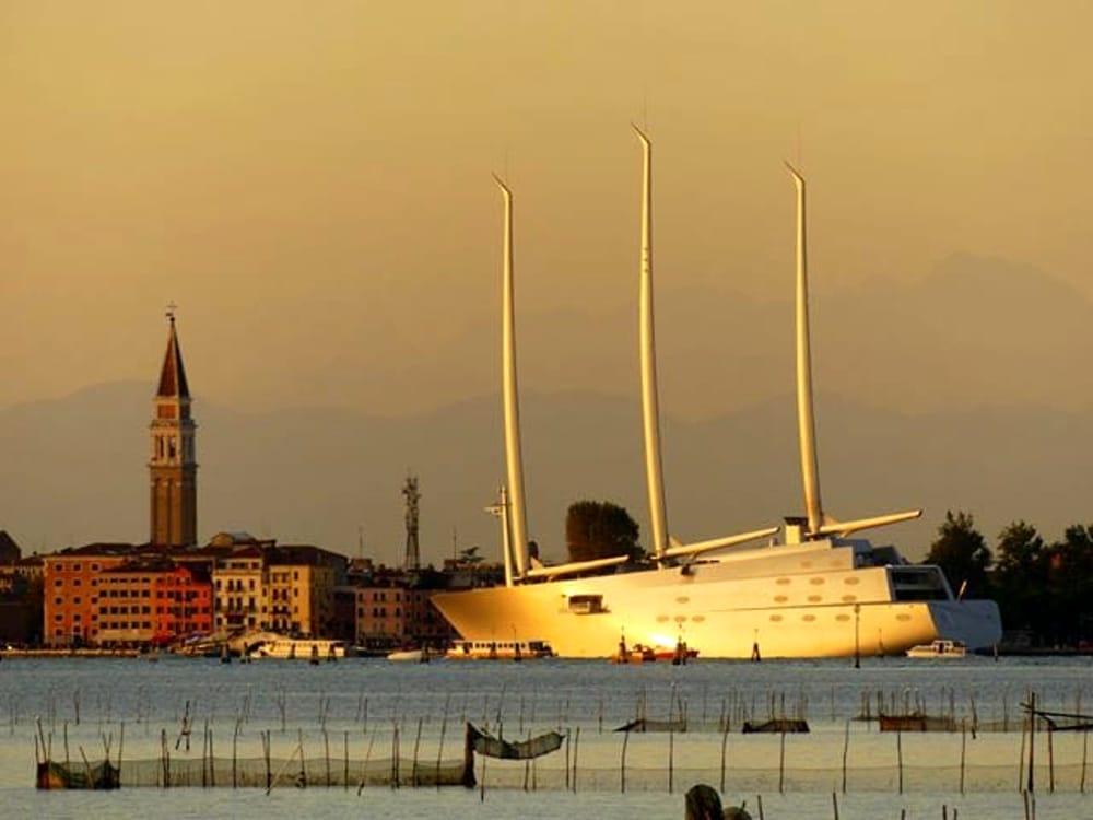 Lo yacht a vela più grande del mondo