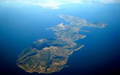 Elba vista aerea