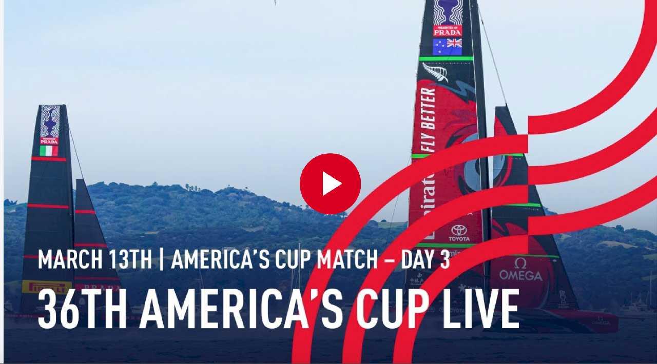 america's cup giorno 3